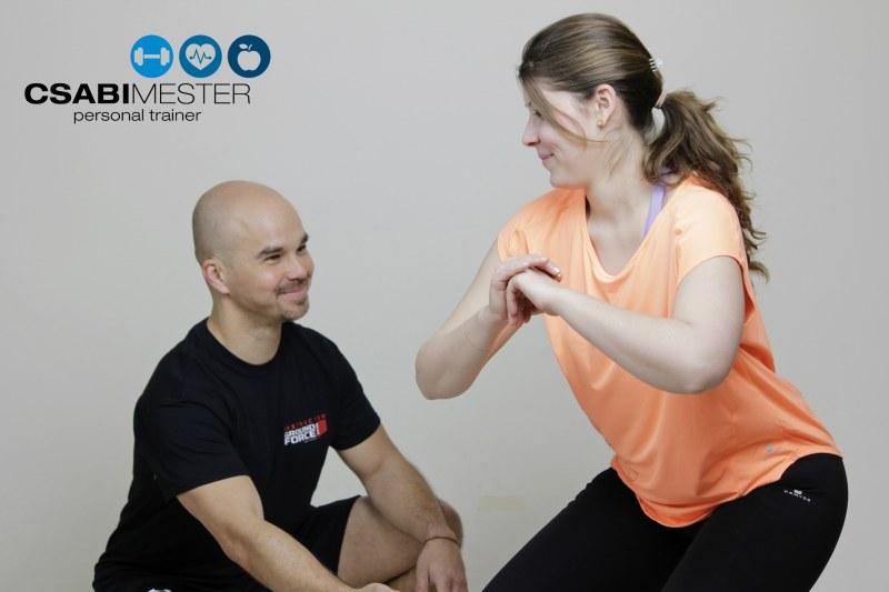 Személyi edzés Csabi mesterrel