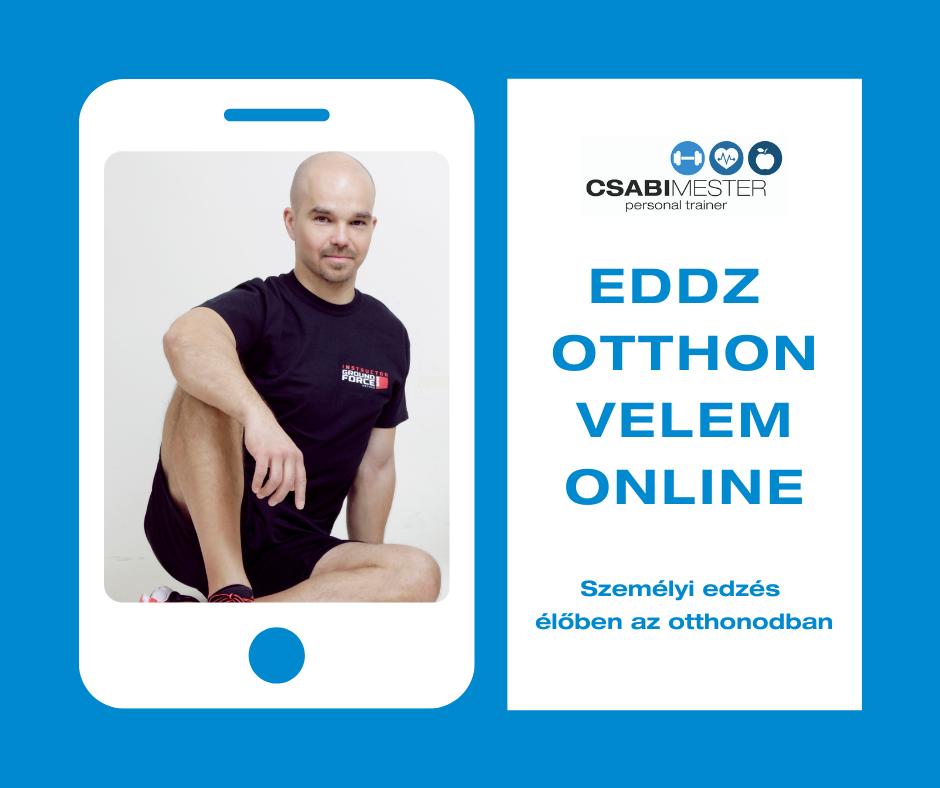 Online személyi edzés
