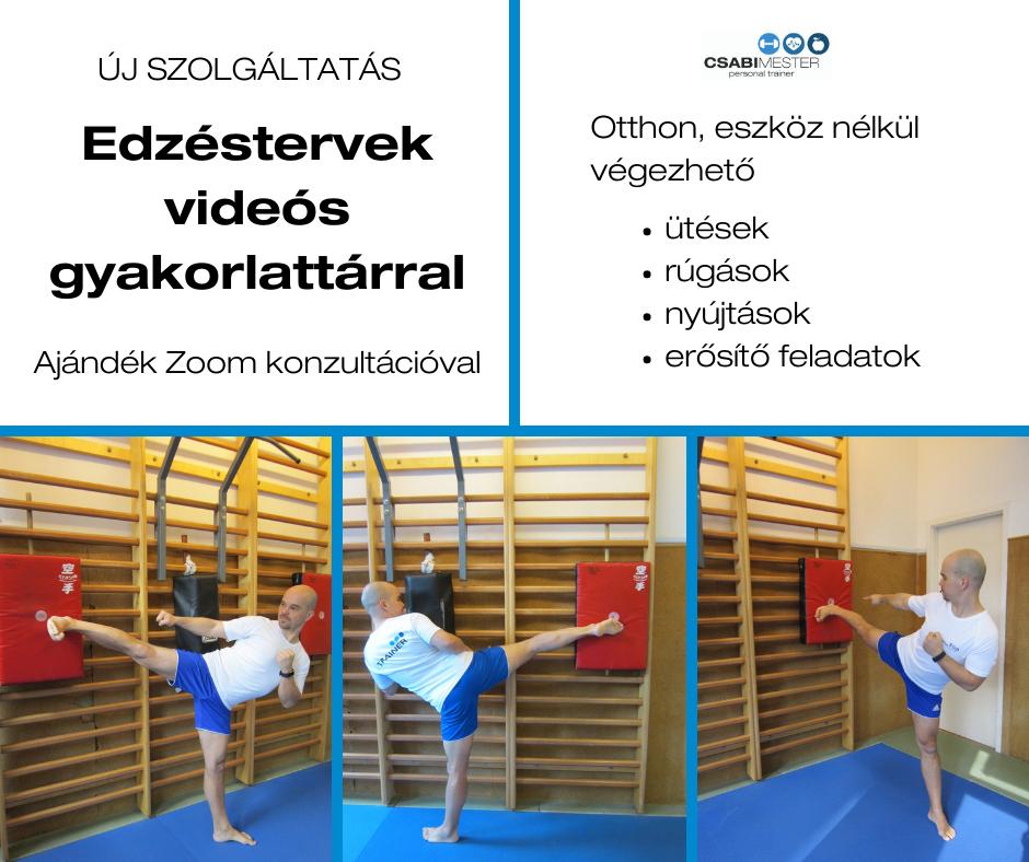Online edzéstervek